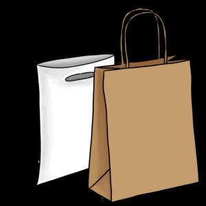 Nizell Säcke Einweg plastik und Karton