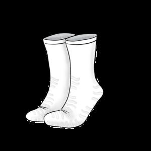 Nizell Patienten Socken Einweg Weiss mit Antirutsch