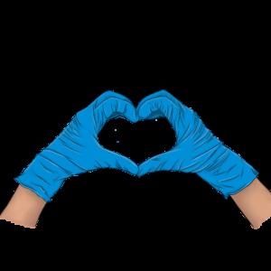 Nitril Handschuhe Puderfrei L